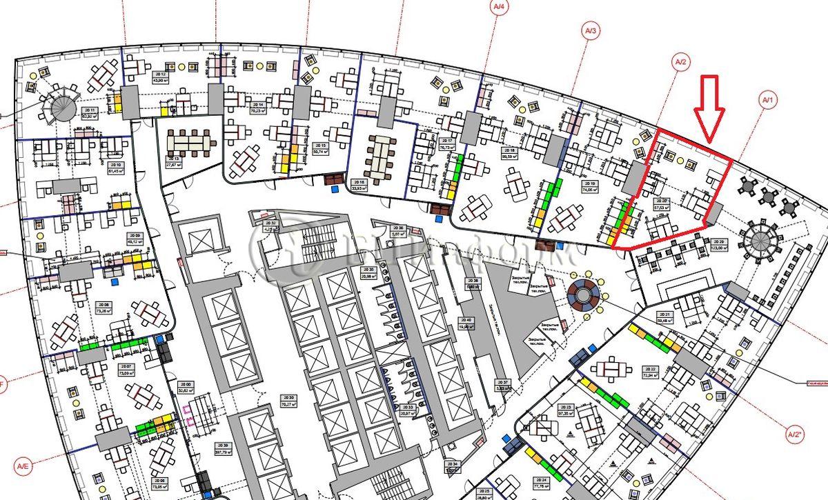 Объявление № 687393: Аренда офиса 66.16 м² - Для площади687393