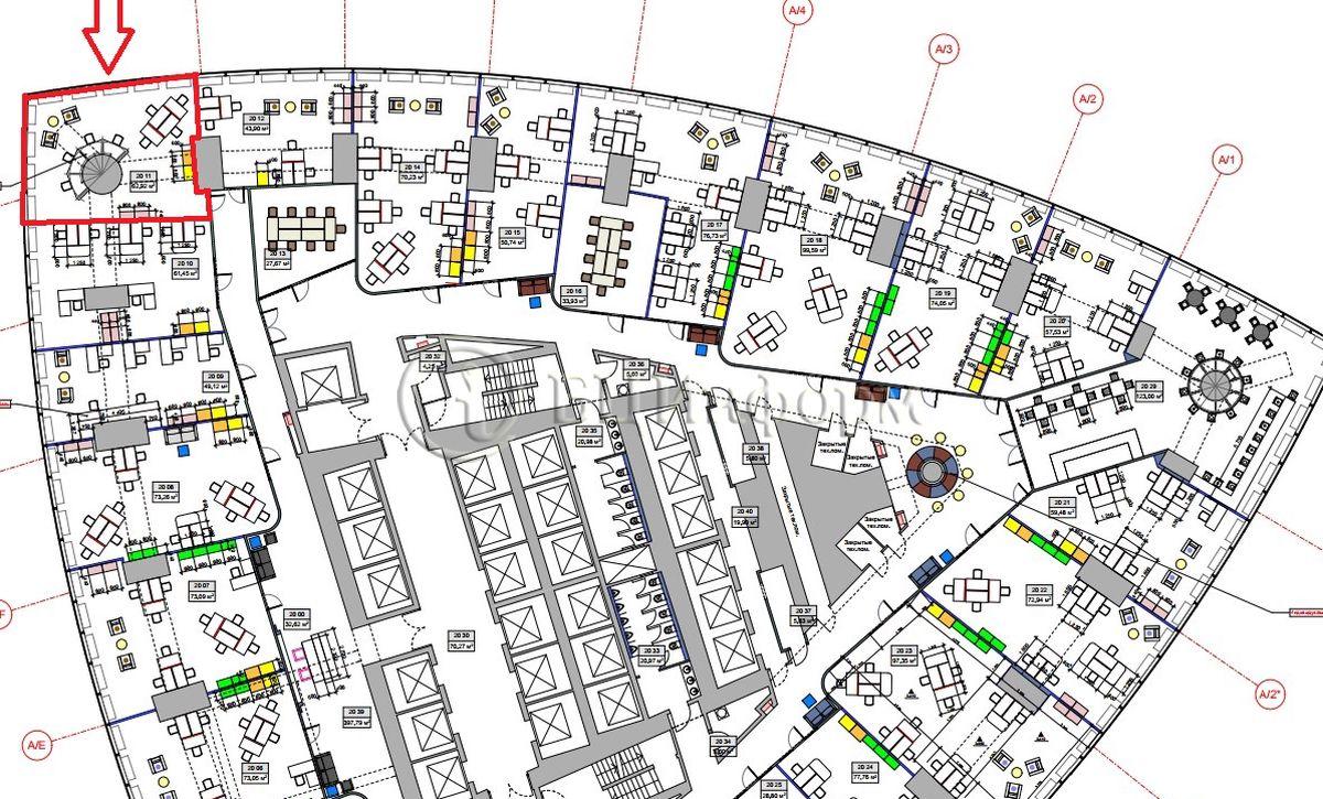 Объявление № 687381: Аренда офиса 71.78 м² - Для площади687381