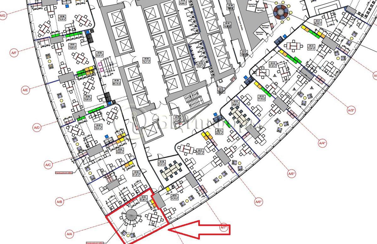 Объявление № 686653: Аренда офиса 72.31 м² - Для площади686653