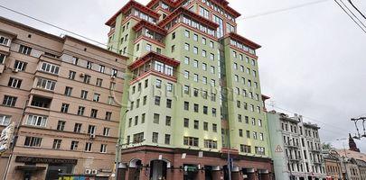 БЦ Садовая Плаза - Фасад