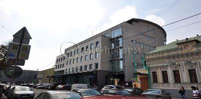 БЦ Бахрушин Хаус - Фасад