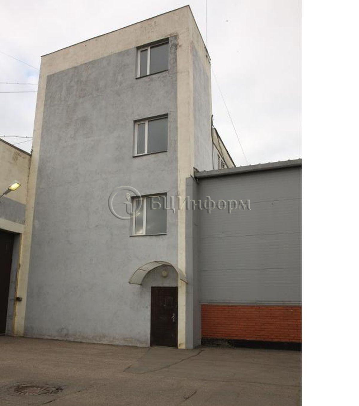 Бизнес-центр Молодогвардейская 61 с20 - Фасад