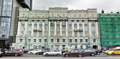БЦ Зубовский 13с1 - Фасад