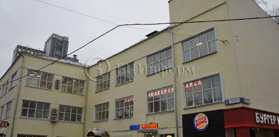 БЦ Ленинская Слобода 17 - Фасад