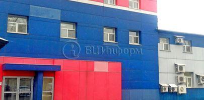 БЦ Сине-Красный - Фасад