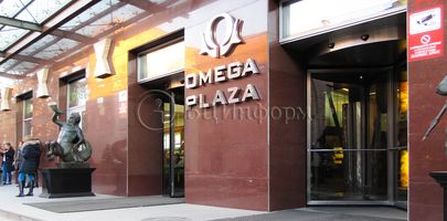 БЦ Omega Plaza - Фасад