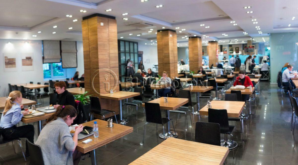 Бизнес-центр Дербеневская Плаза - Столовая