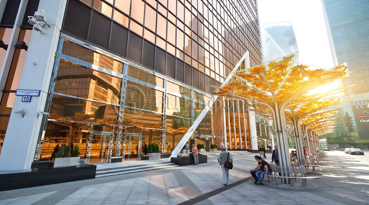 Бизнес-центр Башня Меркурий Сити - Фасад